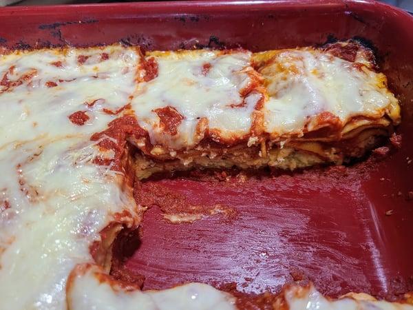 lasagna cut