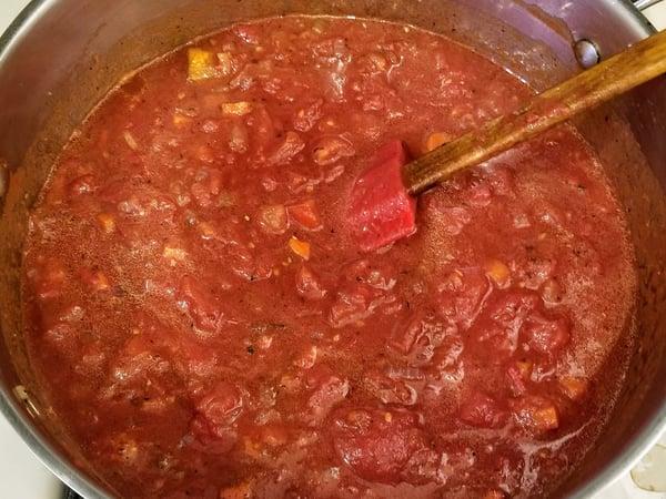 lasagna sauce