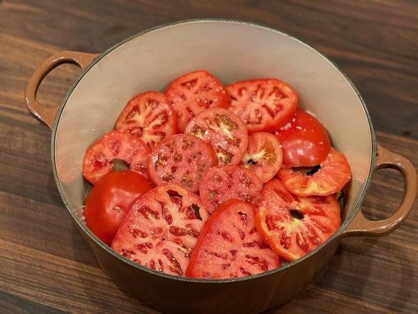 layer tomato