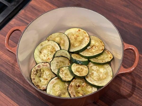 layer zucchini