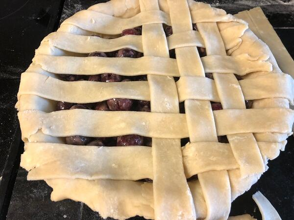 left side of pie 1