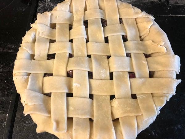 left side of pie 3