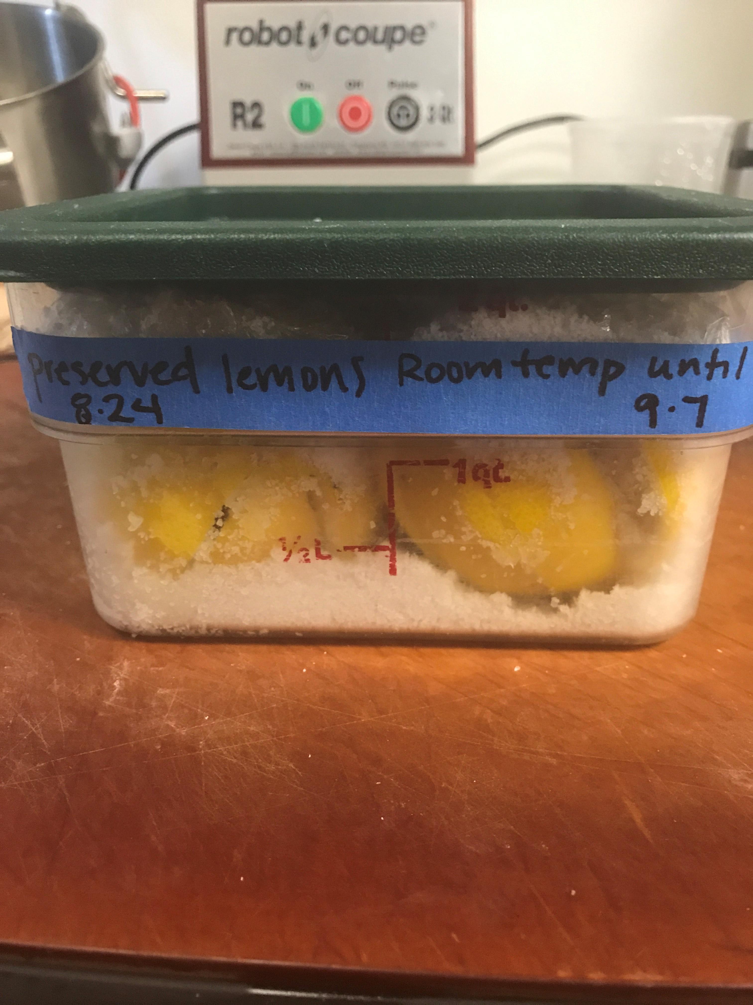 lemons labeled