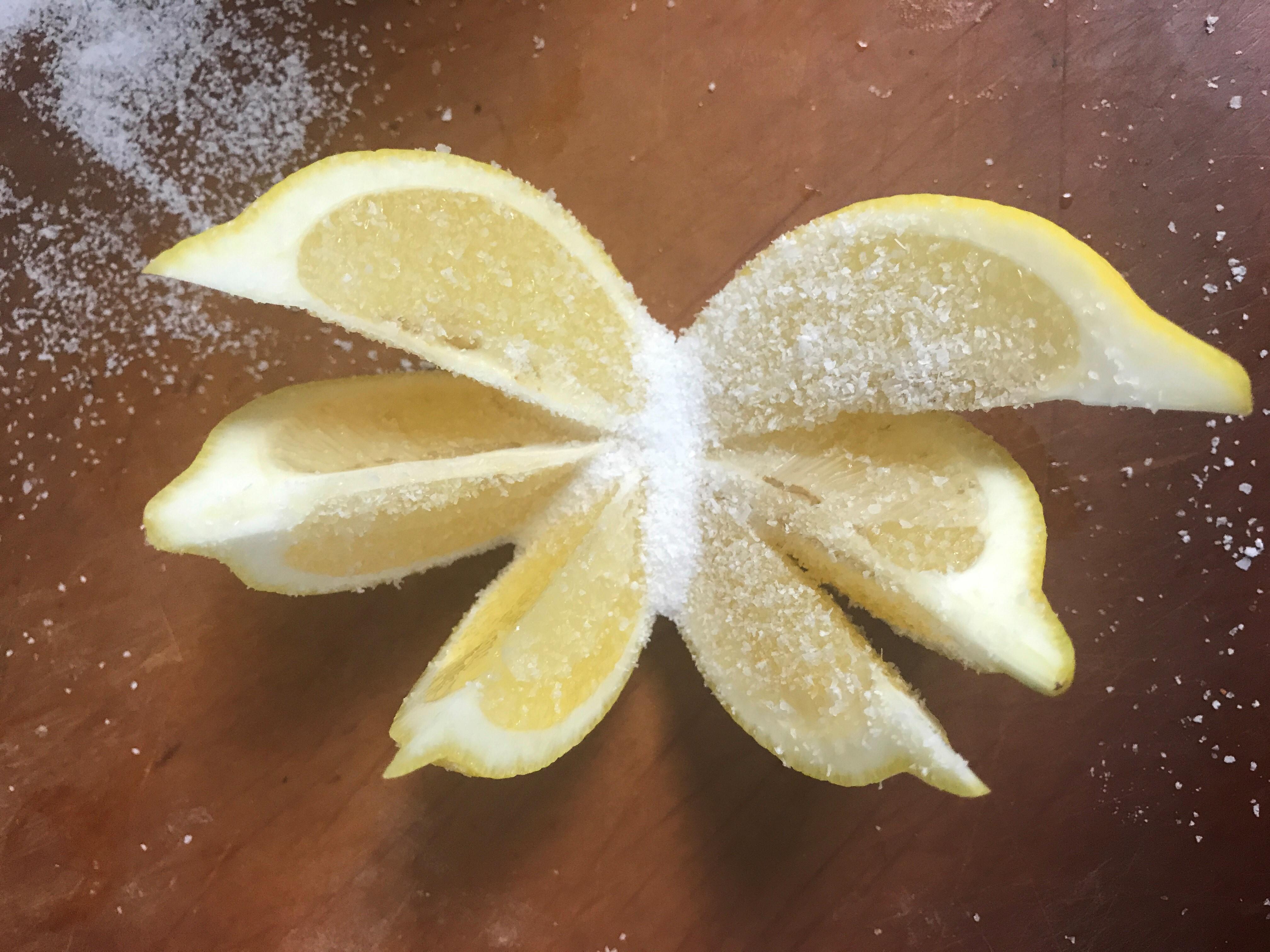 lemons salt