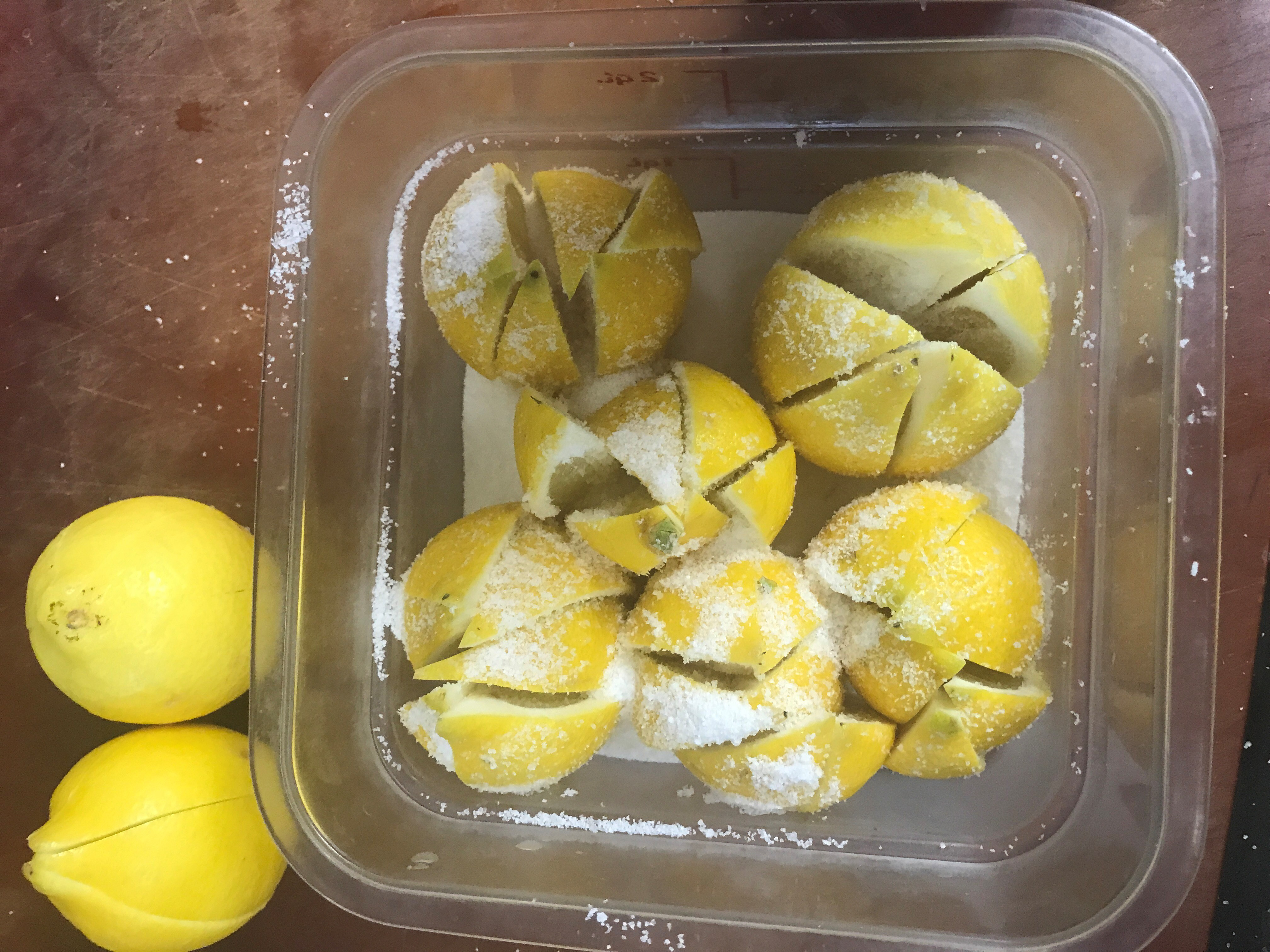 lemons tupperware