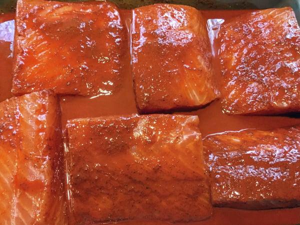 marinade on fish 2