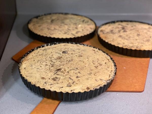 mushroom cheesecakes tart pans 2