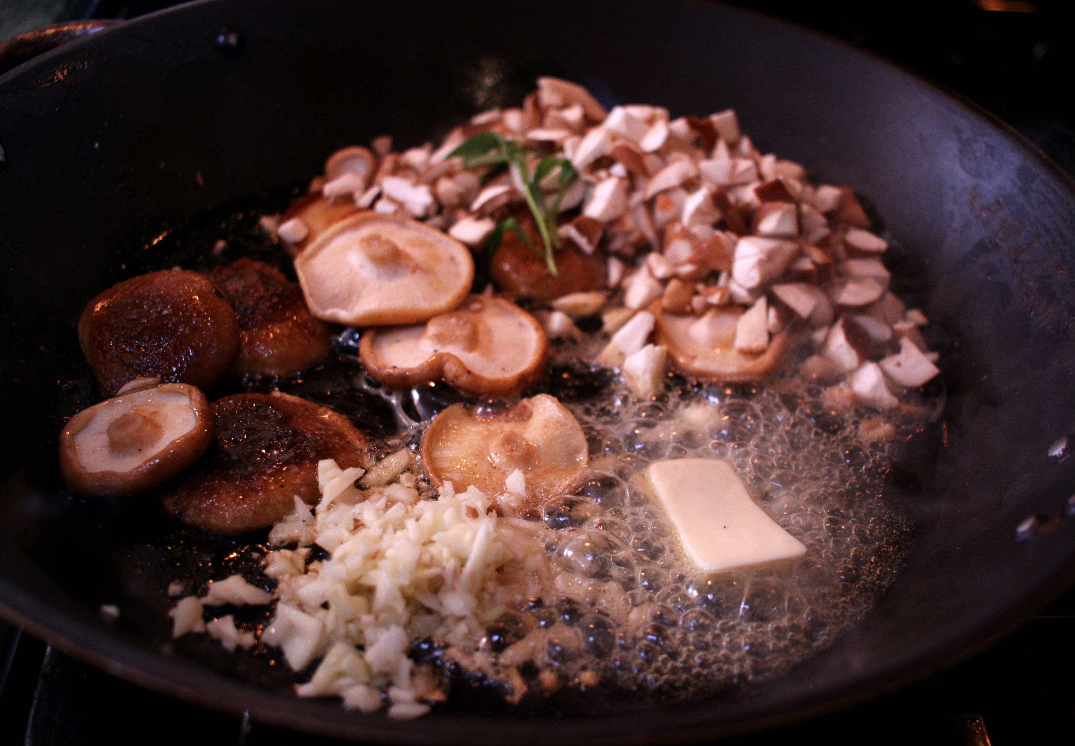 mushroomssaute