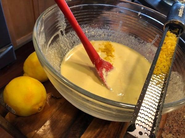 pancake lemon