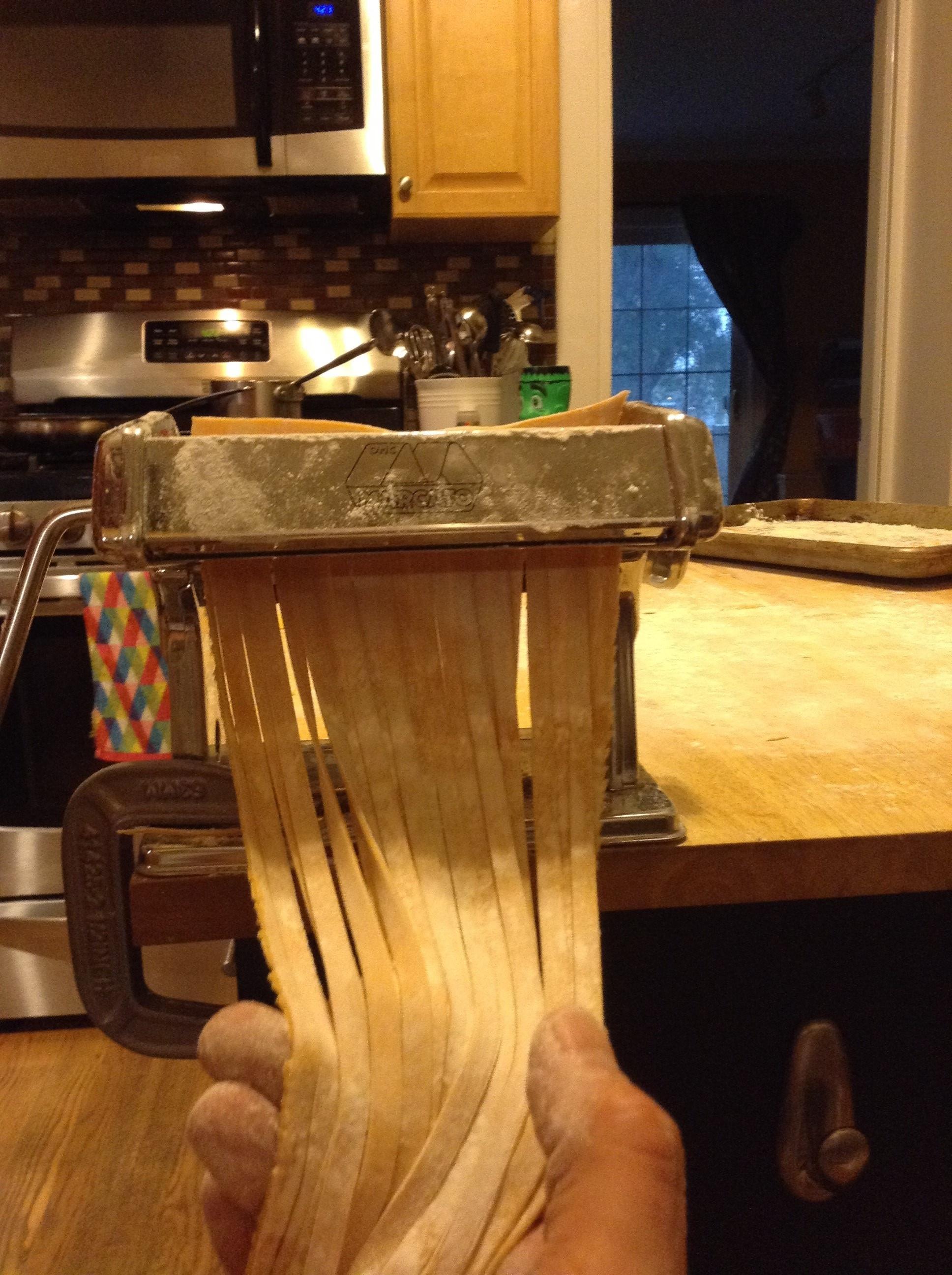 pasta dough noodles