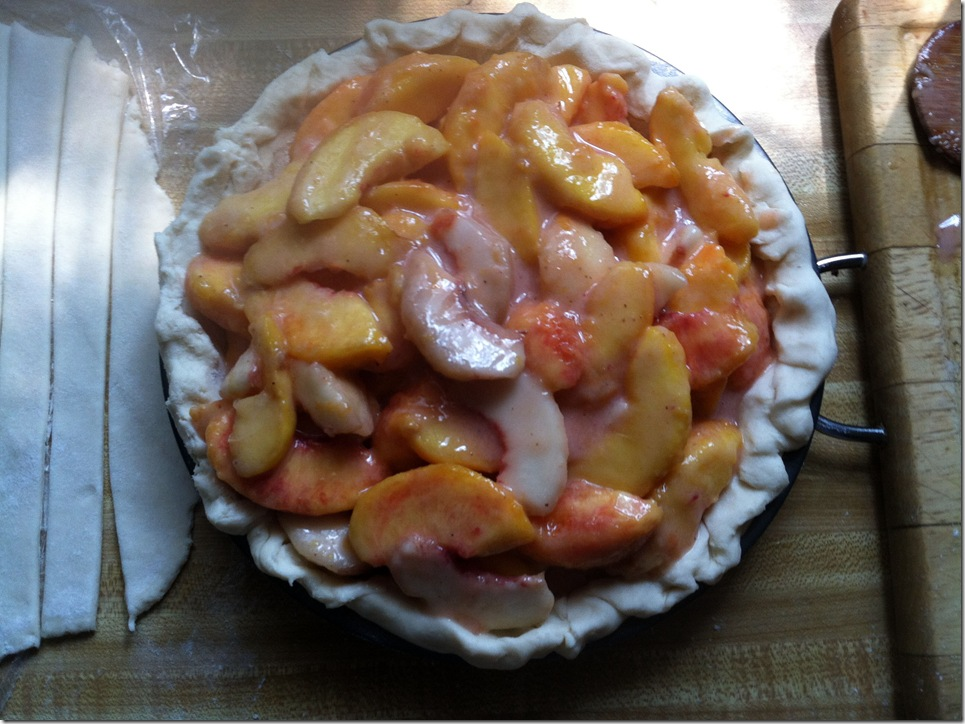 peach pie filled