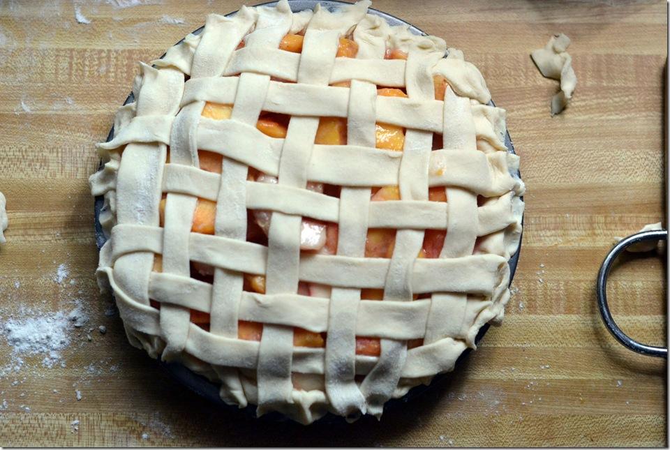 peach pie lattice