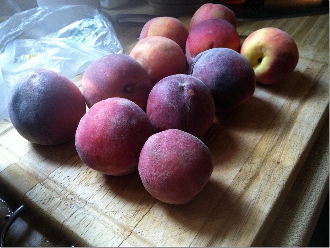 peach pie peaches