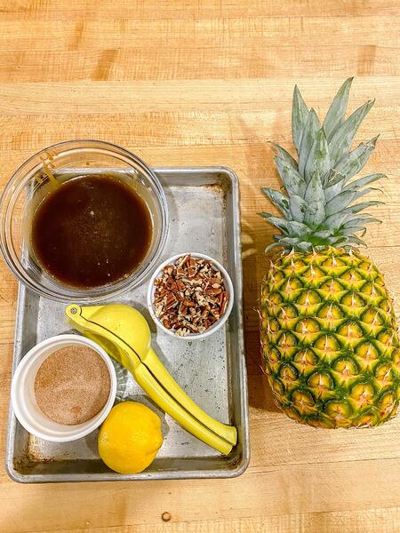 pineapple ingredients