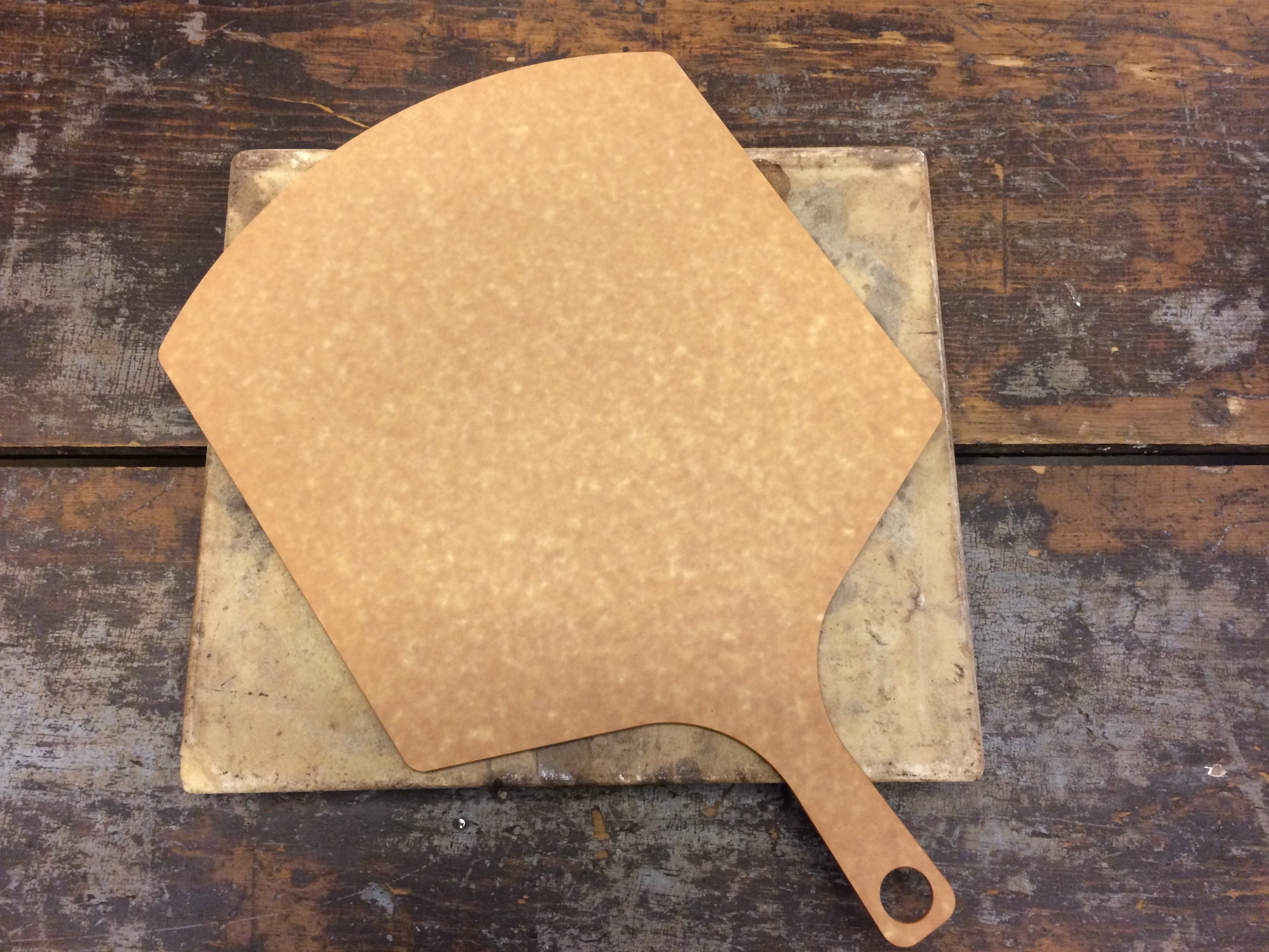 pizza peel and stone