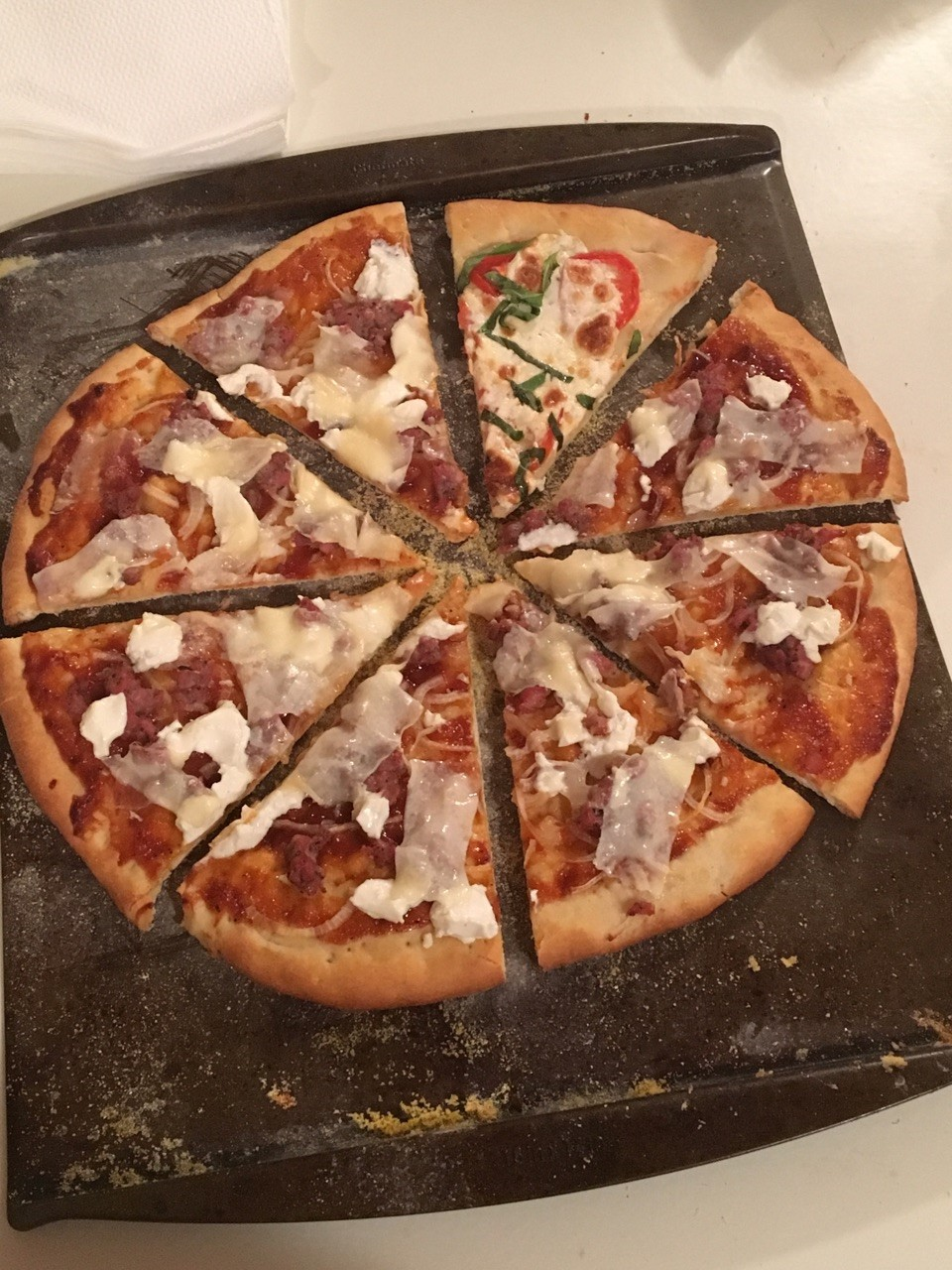 pizza ready to eat
