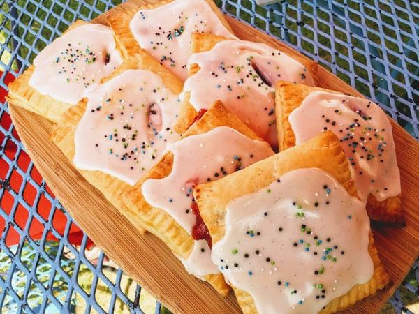plated pop tart