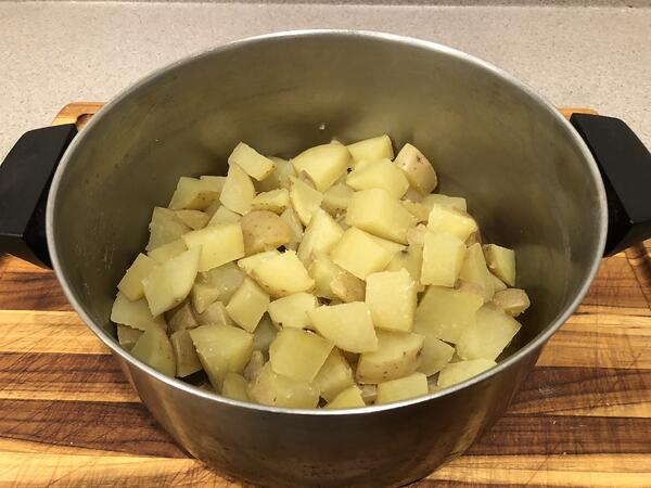 potatoes cut