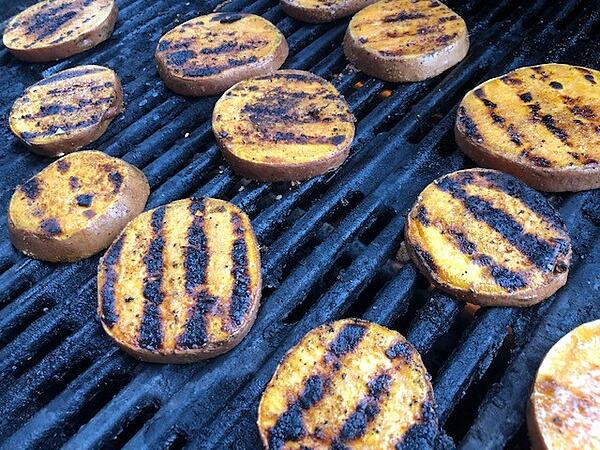 potatoes grill marks