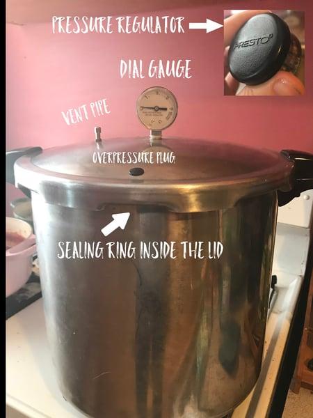 pressure canner equipment