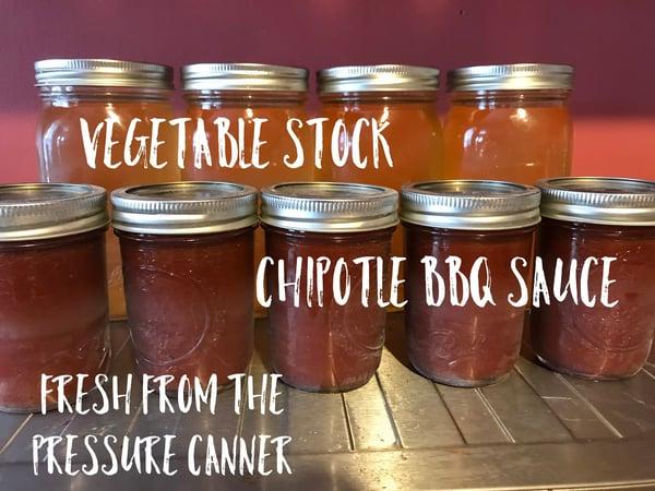 pressure canner jars