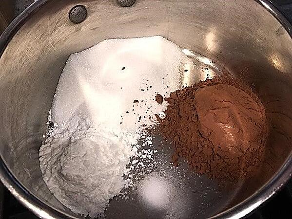 pudding dry ingredients