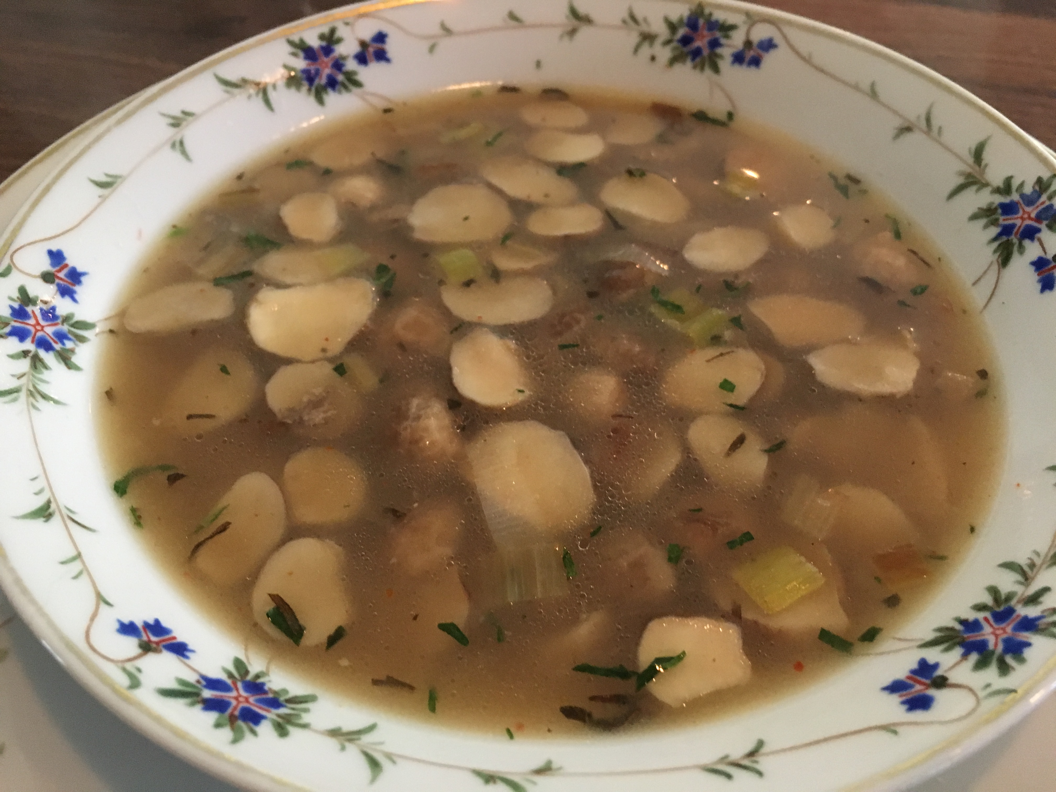 puffball soup