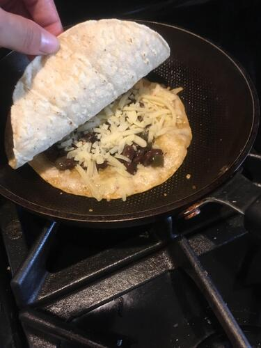 Topping the Quesadilla