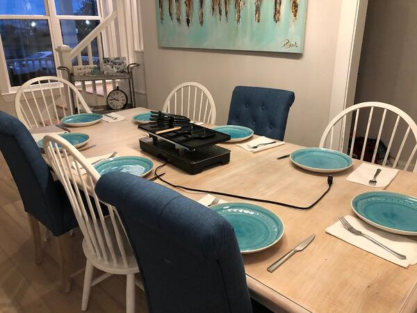 raclette table