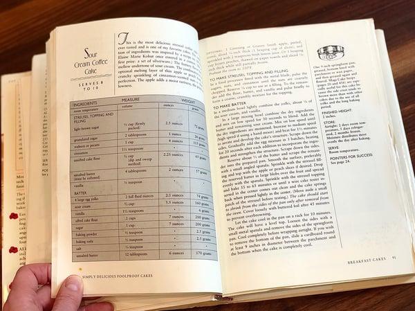 recipe in cake bible