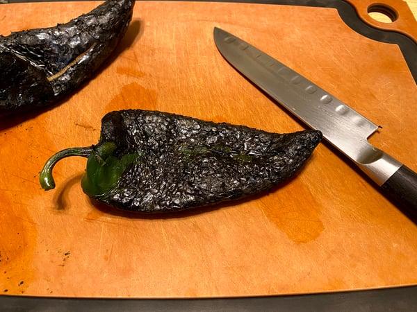 roasted poblano pepper