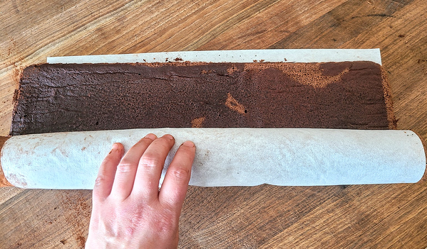 rolling cake