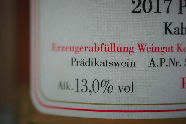 roselabelpradikatswein