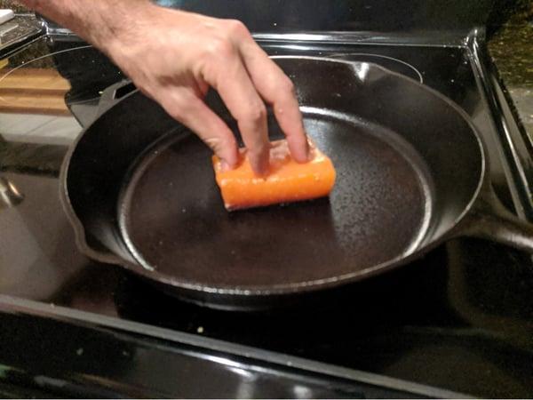 salmon push down 2