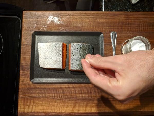 salmon skin salt