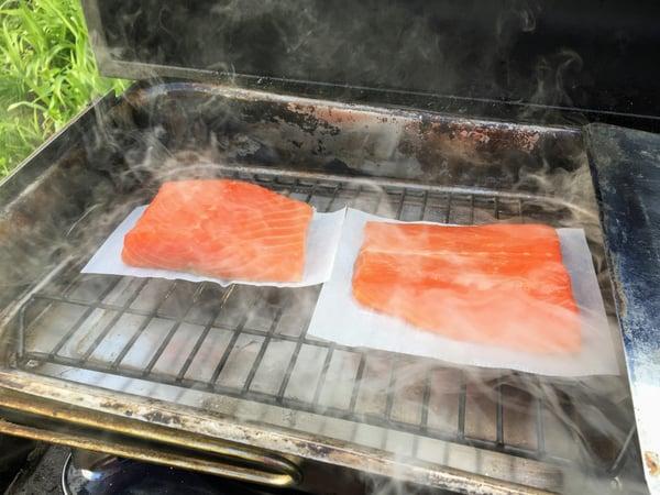 salmon smoke