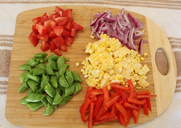 snap pea salsa ingredients