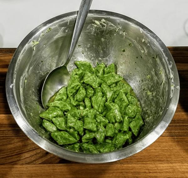 spinach gnudi