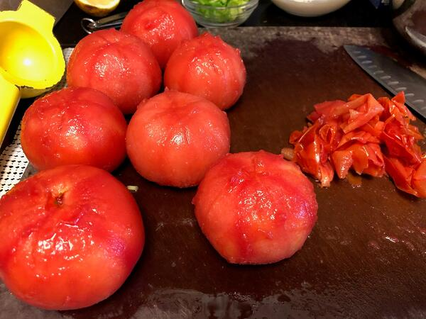 tomatoes peeled