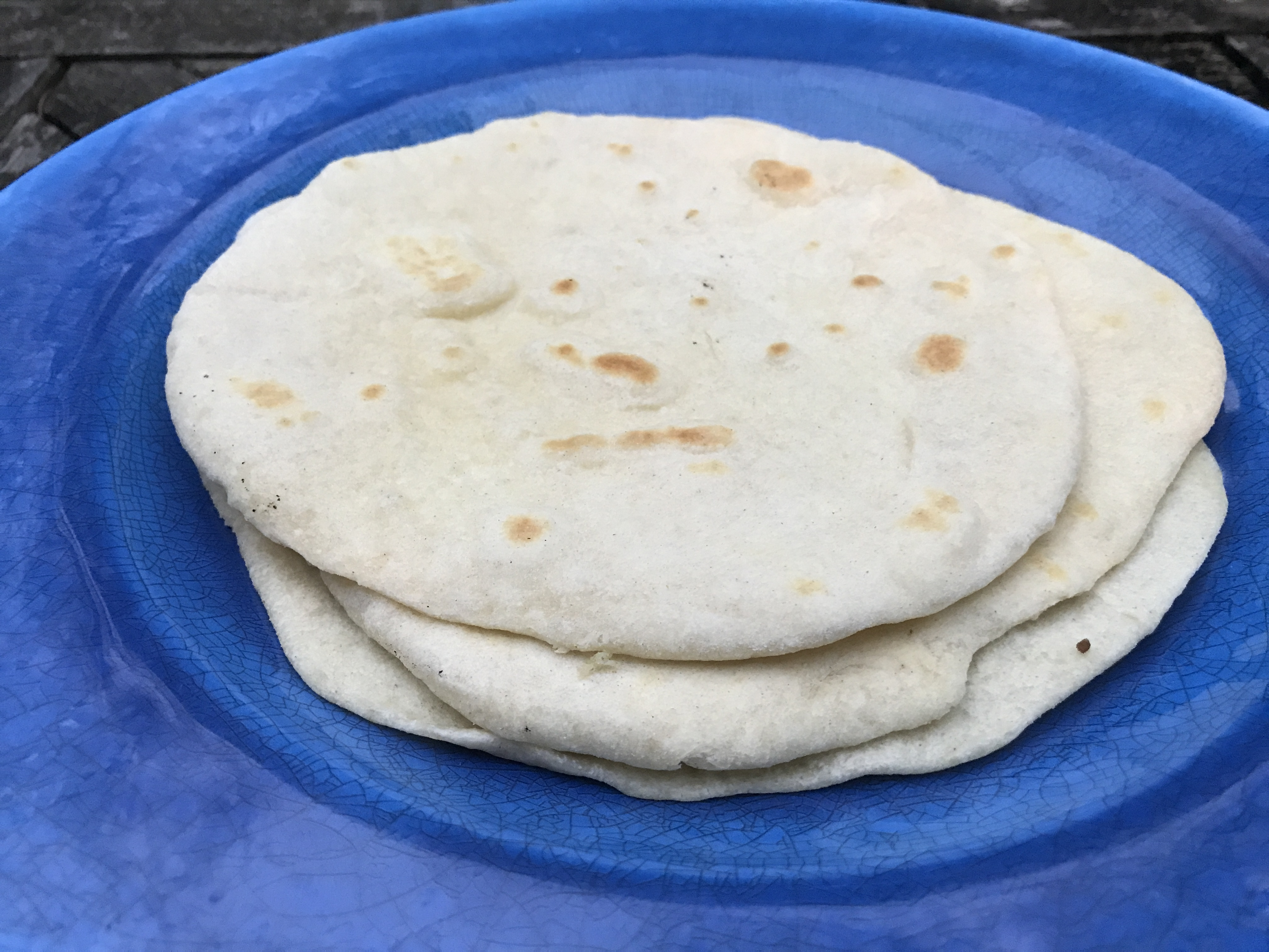 tortilla cooked
