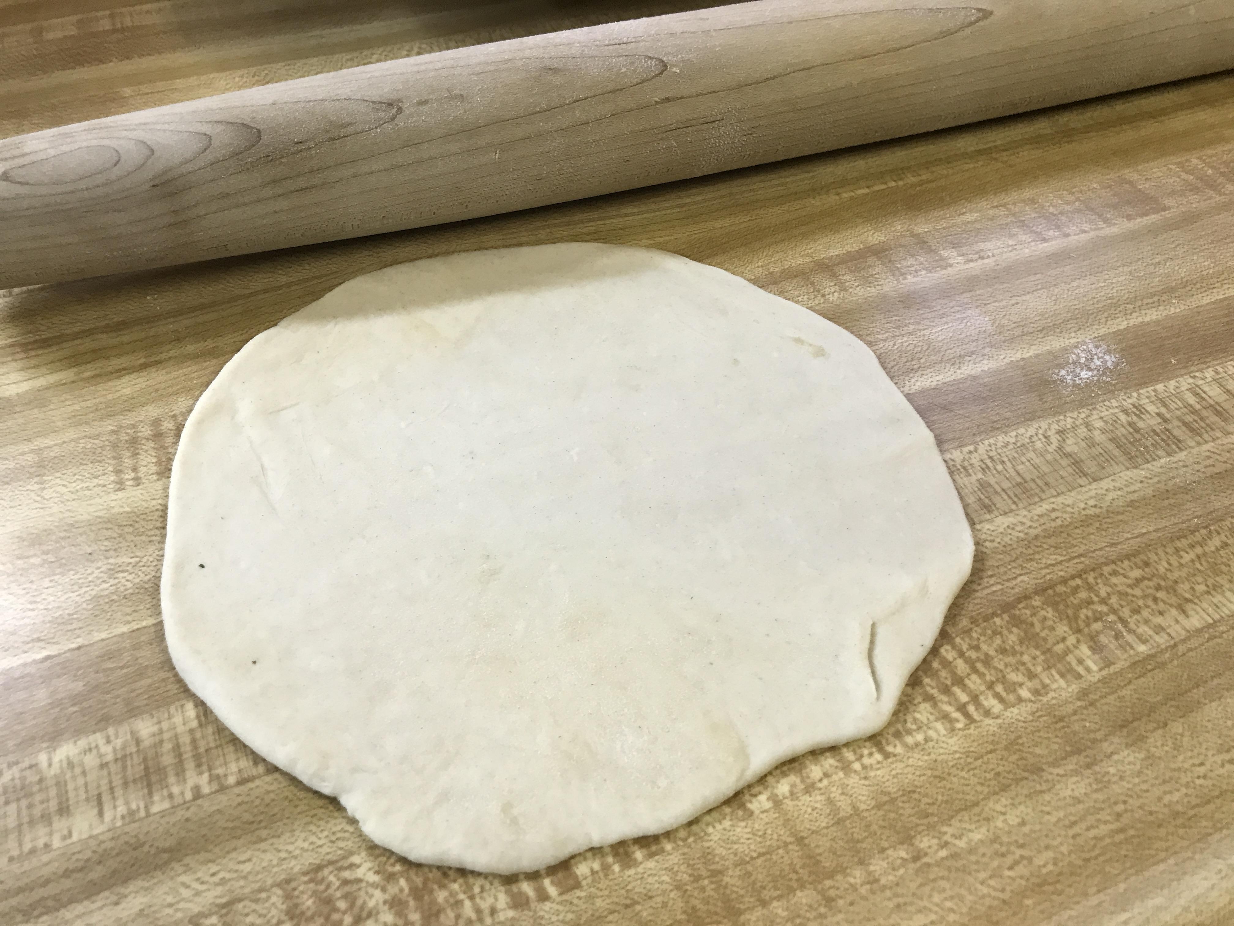 tortilla dough roll