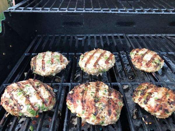 turkey burger grillmarks
