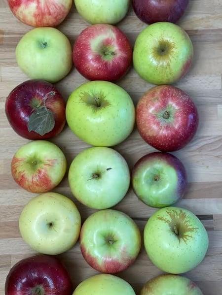 various apples