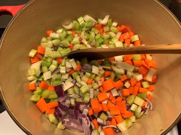 veggies for soup