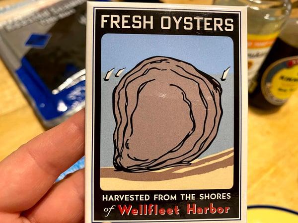 wellfleet harbor oysters