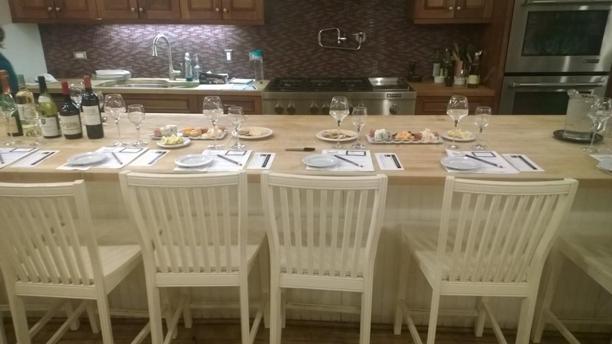 wine class setup