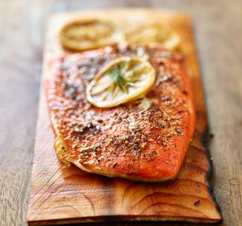 Cedar Plank Salmon Home Page Box