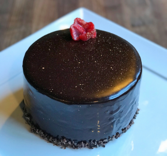 Chocolate Mousse Cake with Mirror Glaze Home Box