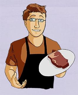 Steak five ways tom promo