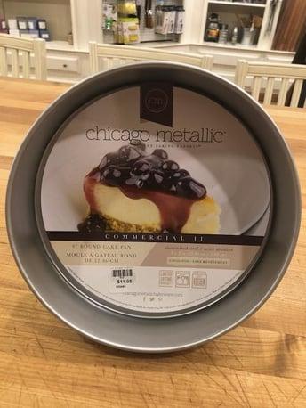 chicago metallic cake pan